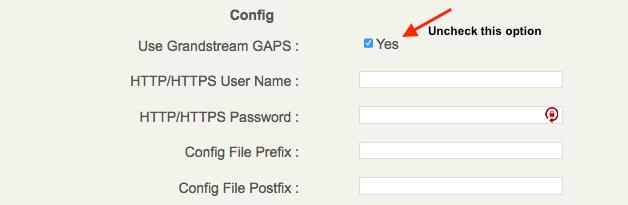 Grandstream Boot Server – OnSIP Support