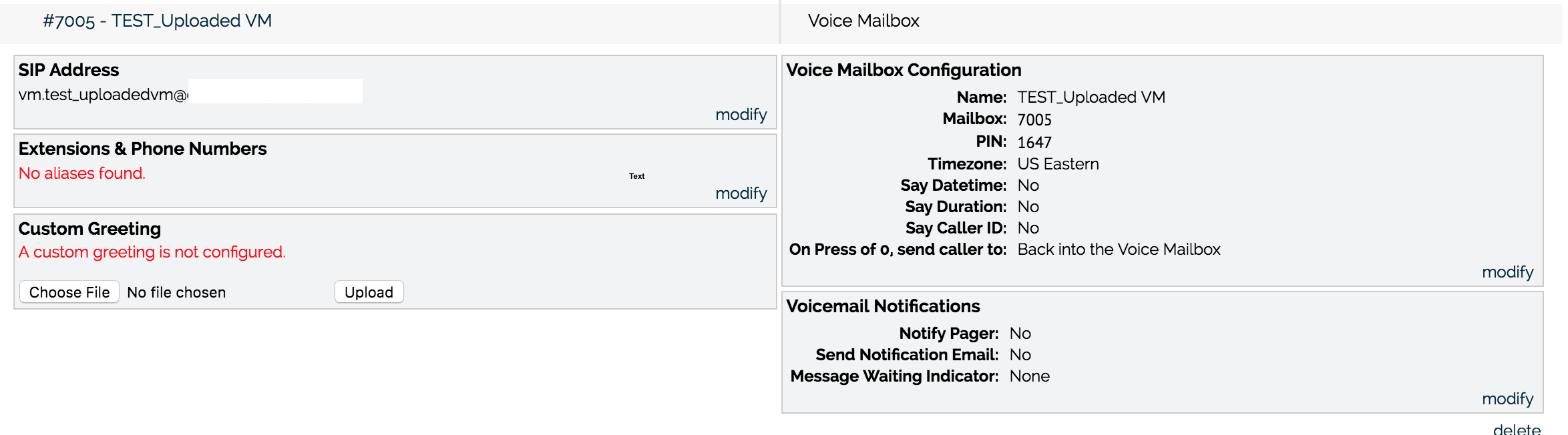 Voicemail Reference Guide Onsip Support